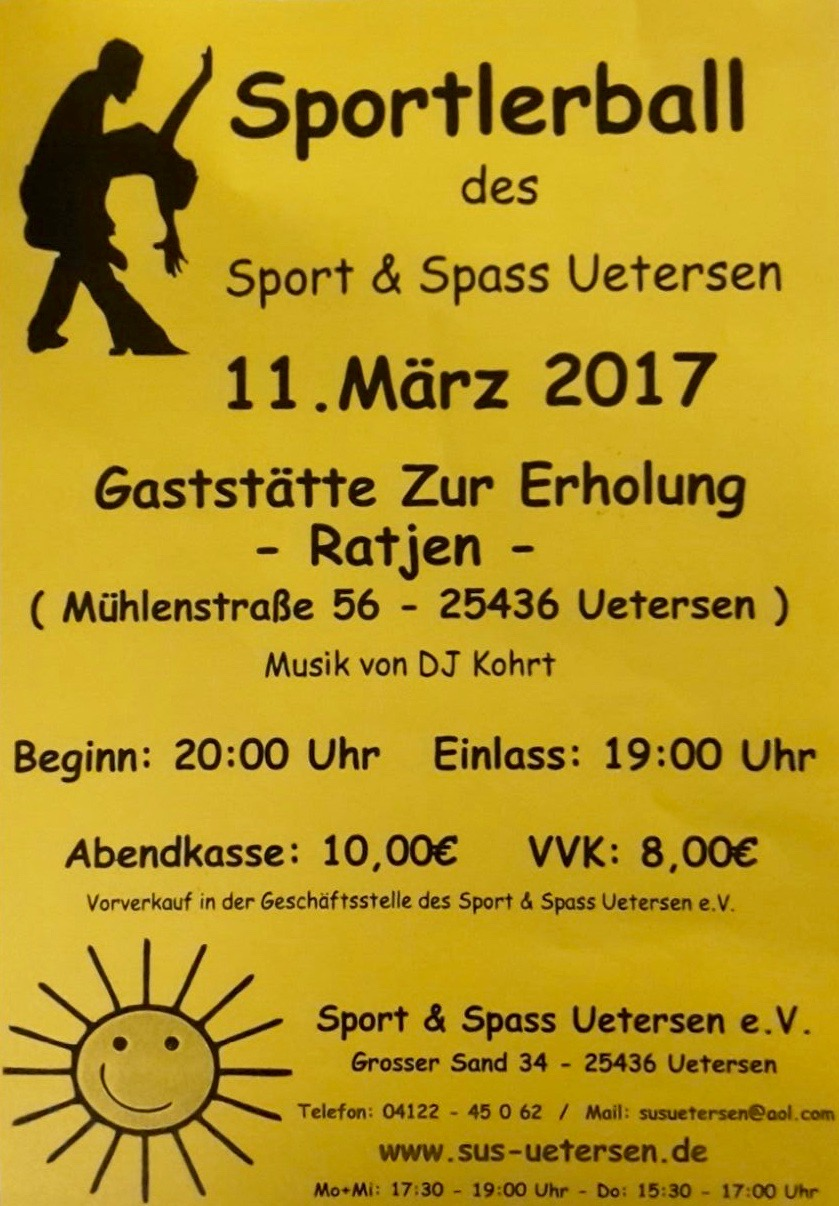 Sportlerball 11.03.2017